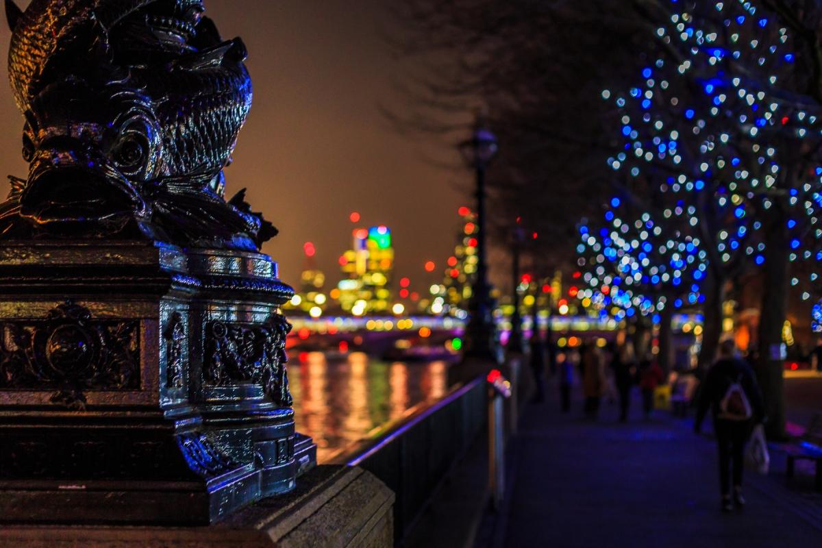 Bankside in London