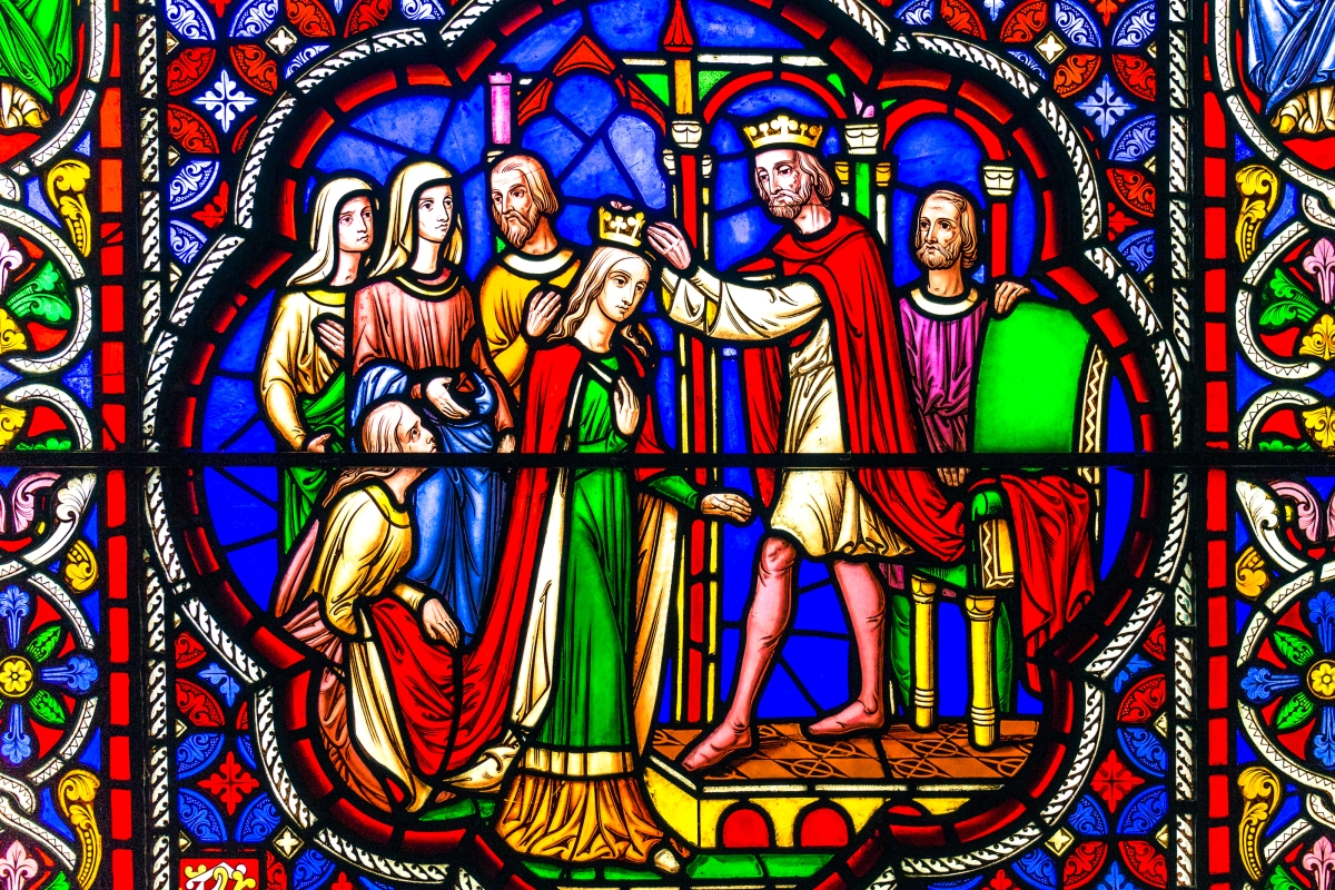 Stained Glass at Ely Cathedral