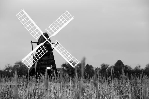 Wicken Fen Wind Pump