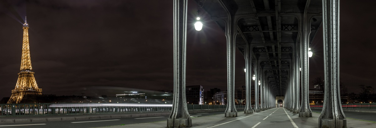 "The Bir-Hakeim Bridge, or as others may know it ""That bridge from Inception"""