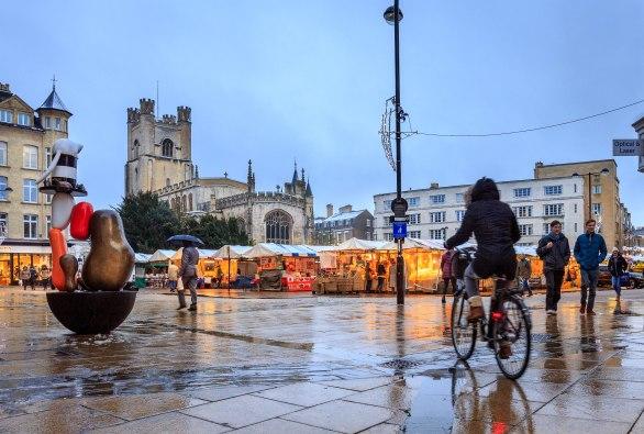 Winter MArket Square Cambridge